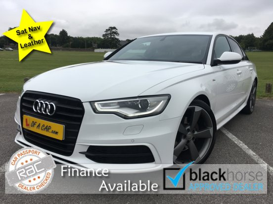 2014 14 Audi A6 2.0 TDi Ultra Black Edition 4 Dr Saloon